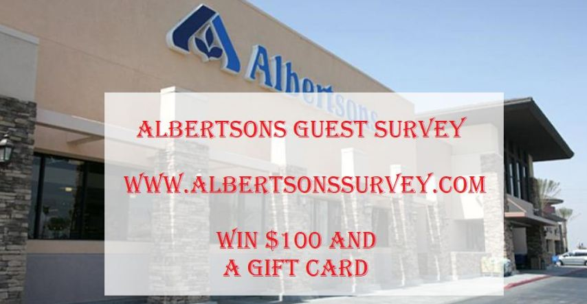 Albertsons Survey rules