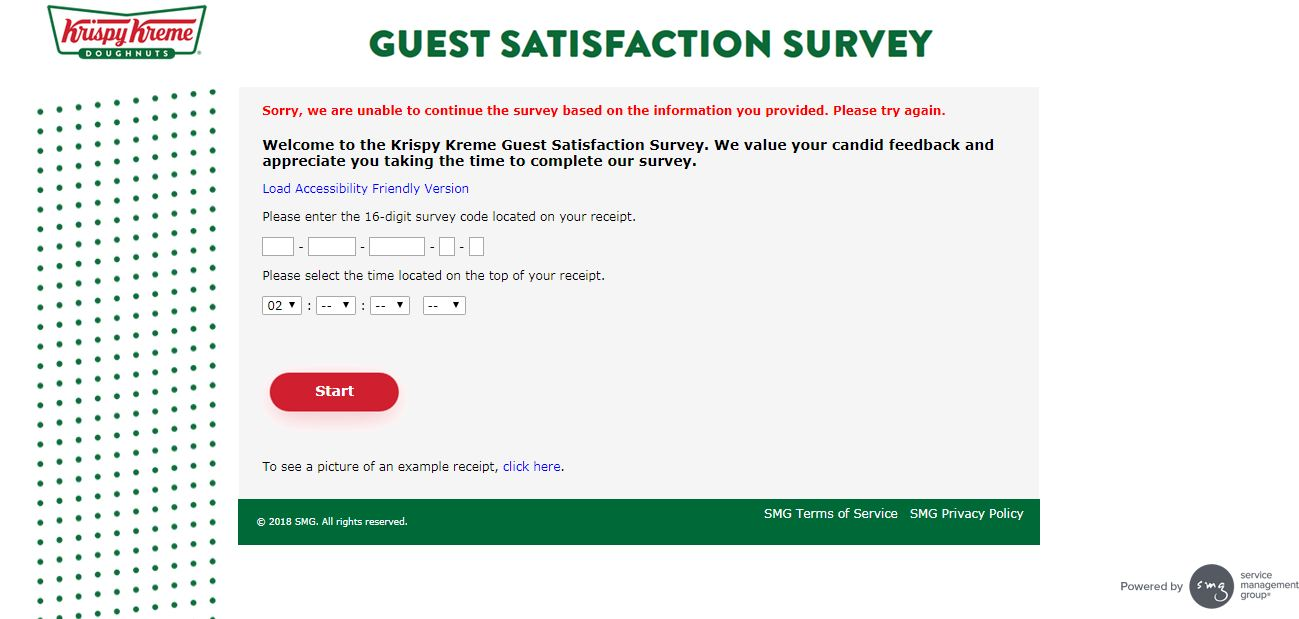 Krispy Kreme survey guide