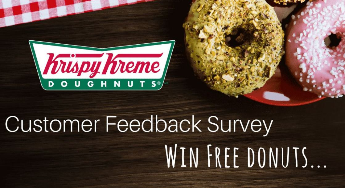 Krispy Kreme survey rewards