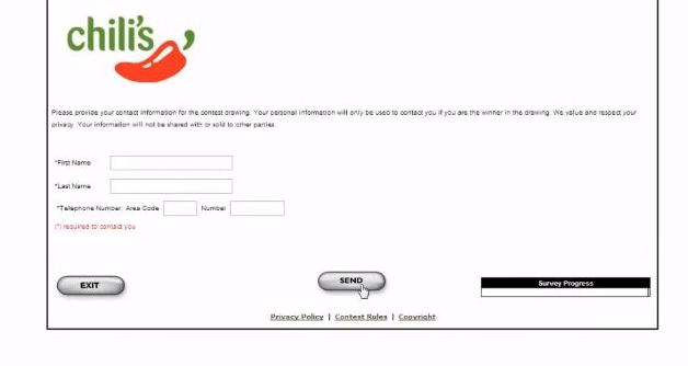 chillis survey rules