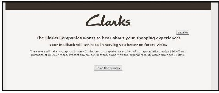 clarks survey guide