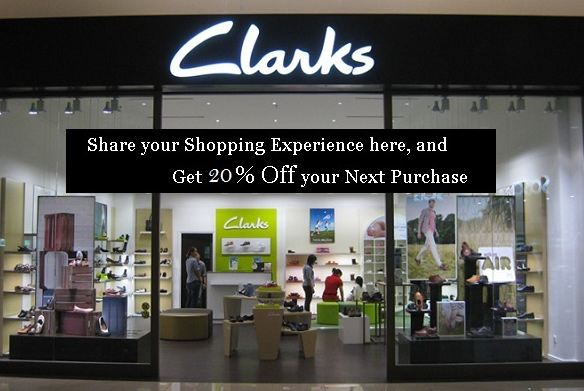 clarks survey rewards