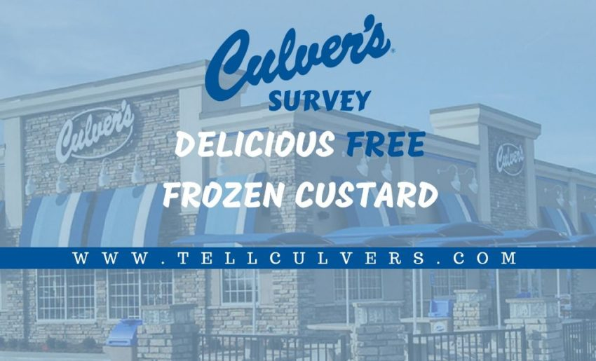 culvers survey rules