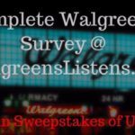 walgreens survey guide