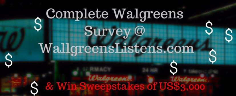 Walgreens monthly cash sweepstakes winners