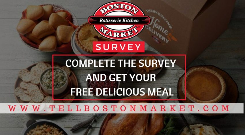 boston market survey proces