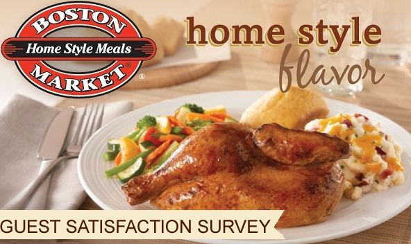 boston market survey steps