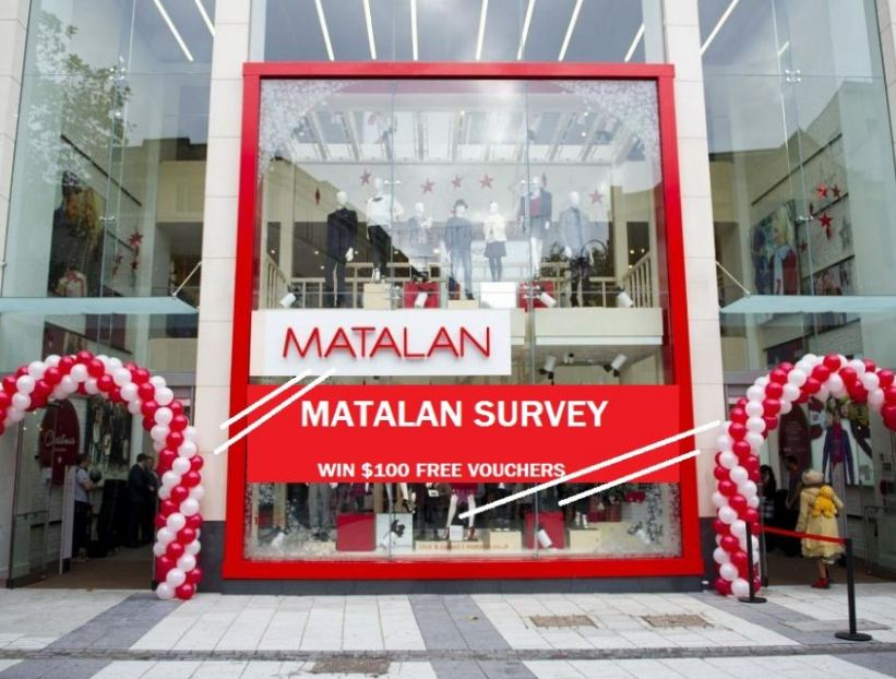 Matalan Survey @ www.matalan-survey.co.uk Win £100 voucher