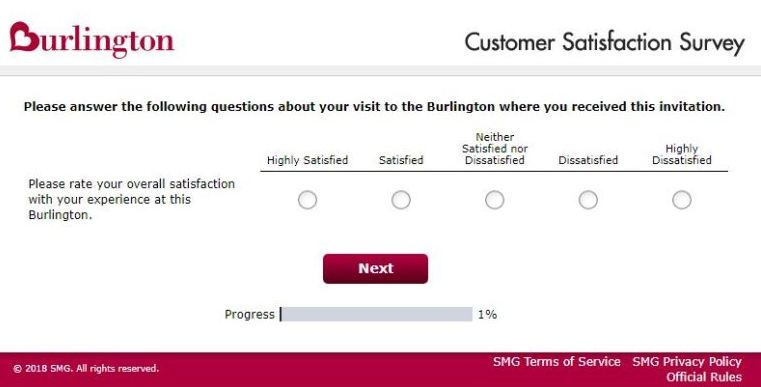 Burlington survey